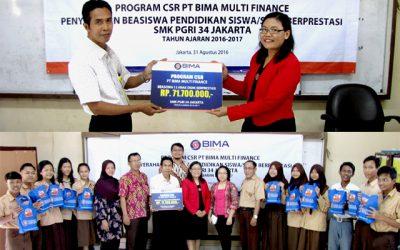 CSR PROGRAM IN EDUCATIONAL SCHOLARSHIP