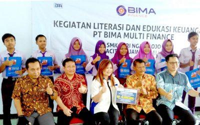 PT BIMA MULTI FINANCE DISTRIBUTES EDUCATION AID