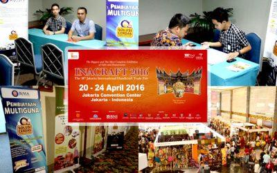 PAMERAN INACRAFT 2016 JCC JAKARTA